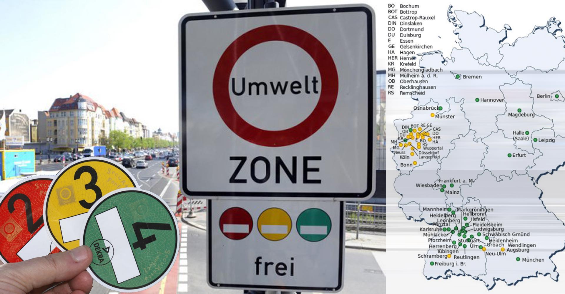 Milieuzones Europa: Wat zijn de regels?