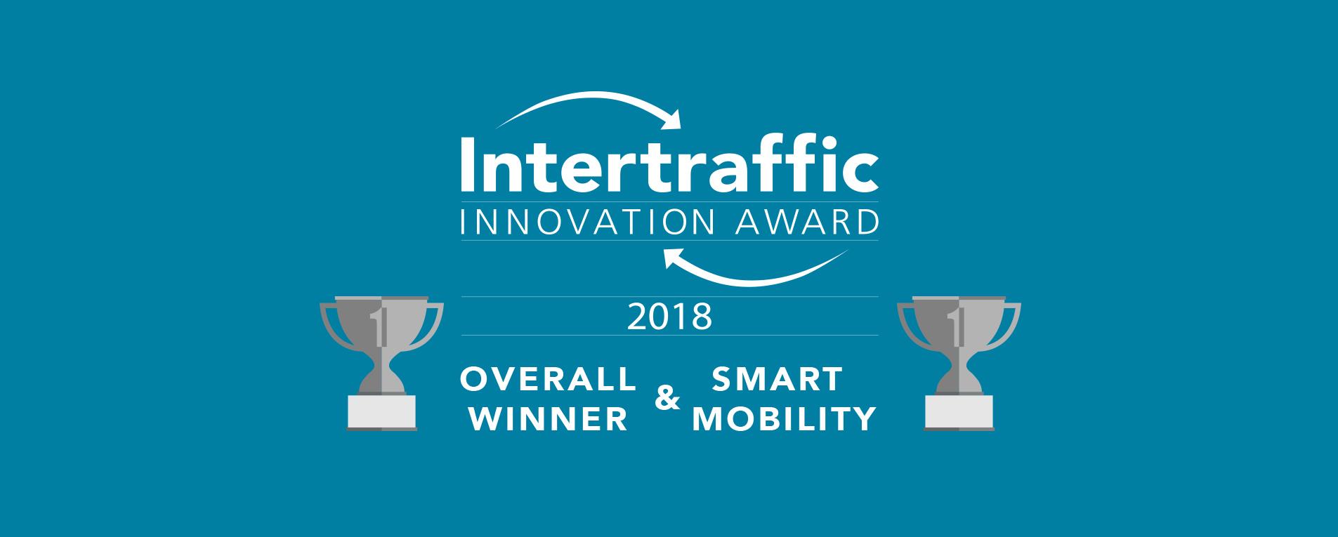 Parkmobile grote winnaar Intertraffic Awards 2018