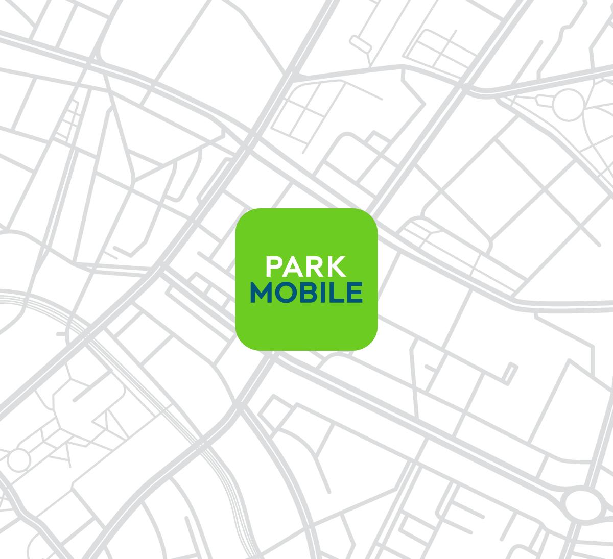 Nieuw app icoon logo Parkmobile