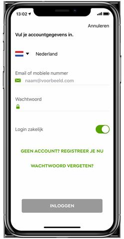 Zakelijk en privé in één app