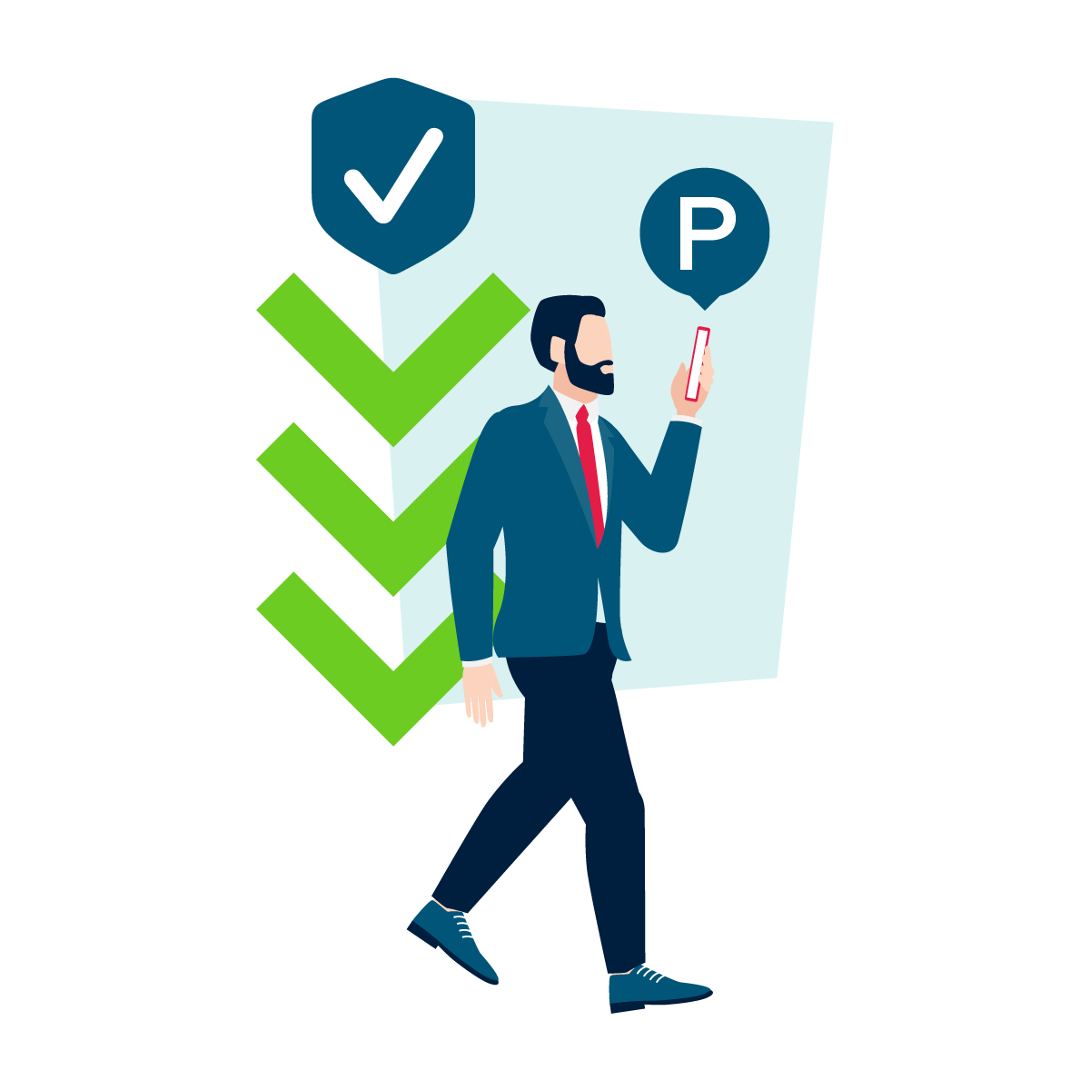 Veilig op stap begint met contactloos parkeren