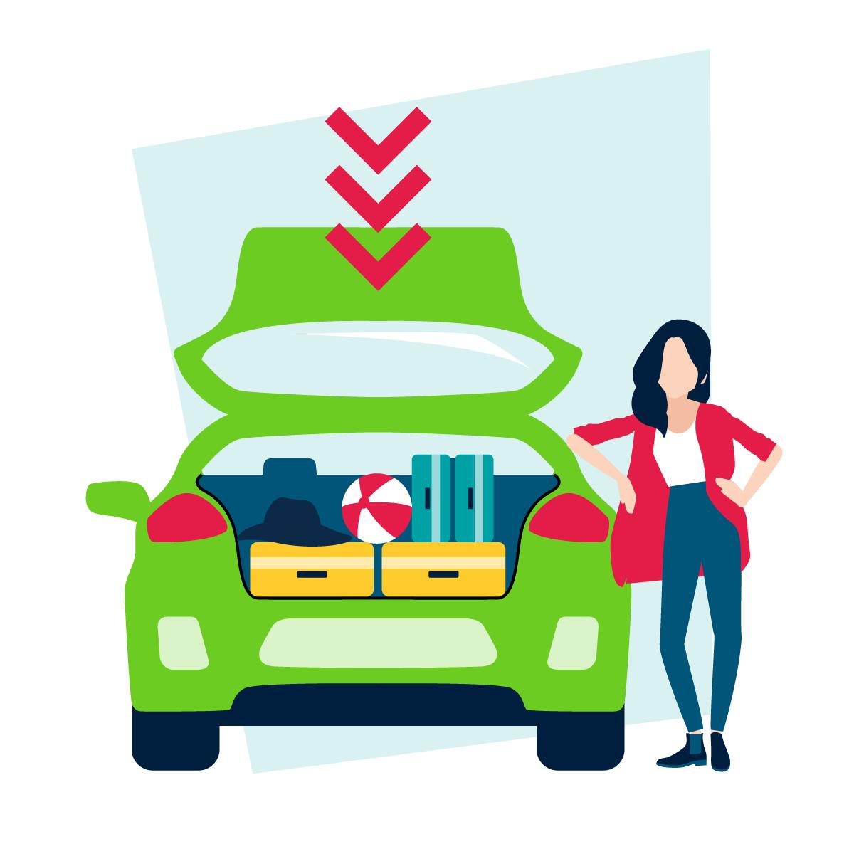 Lang leve de opgeruimde vierwieler! 6 tips om de spullen in je auto op te bergen