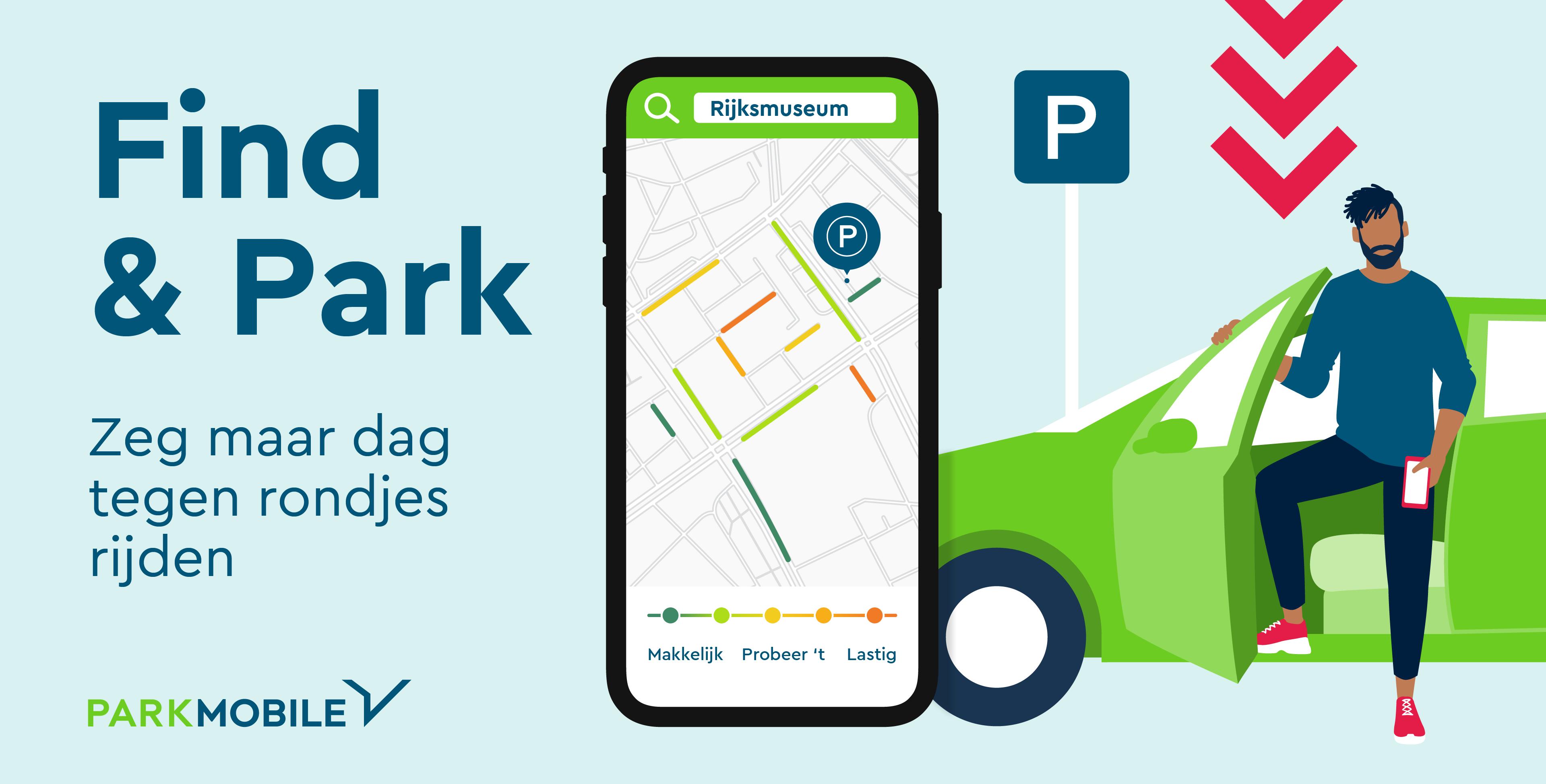 Persbericht Parkmobile Find & park