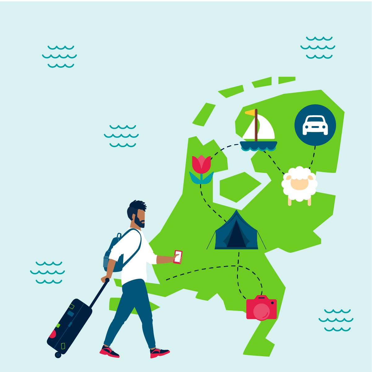 Vakantie in eigen land? 5 mooie roadtrips in Nederland