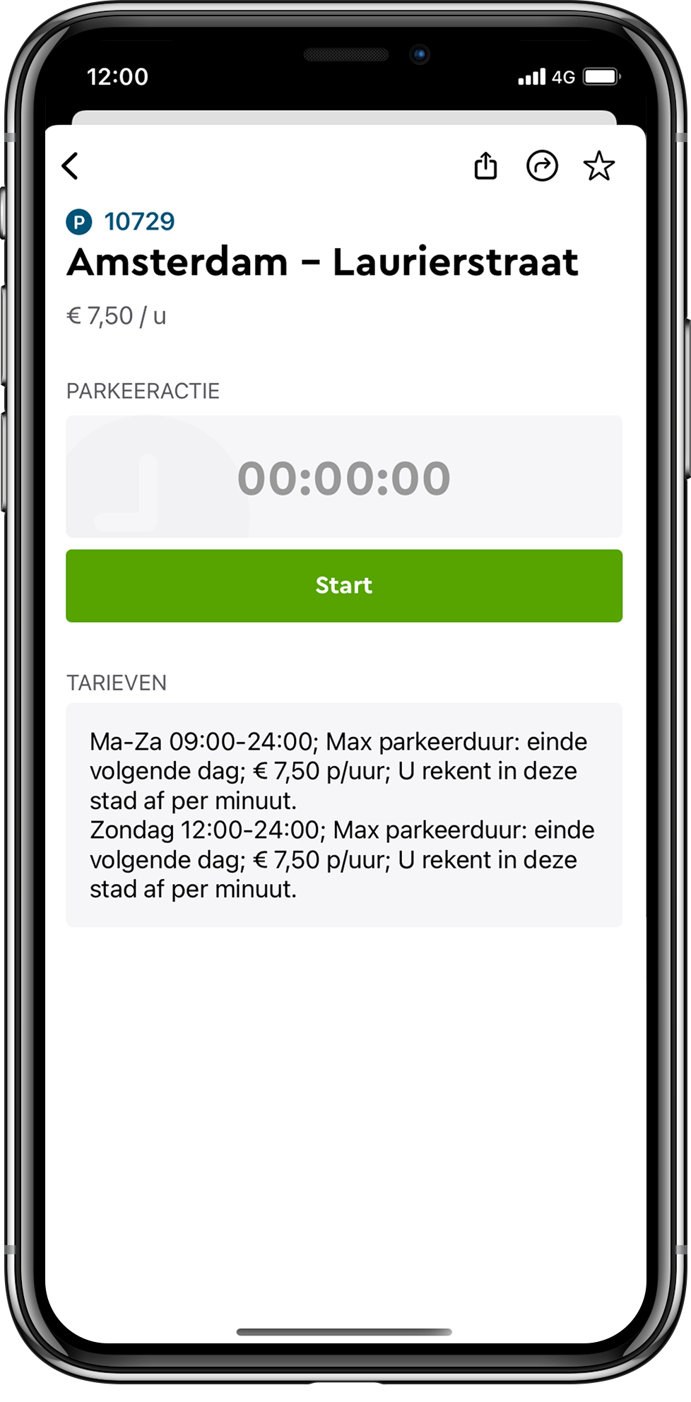 Parkmobile start parkeeractie
