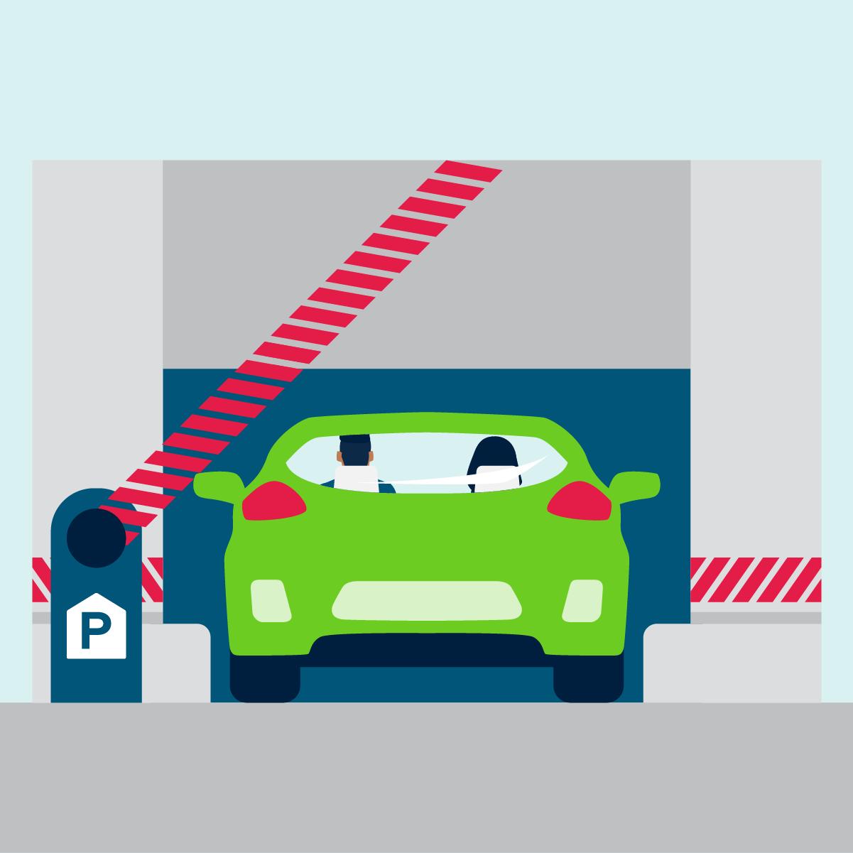 Zó parkeer je veilig in een krappe garage!